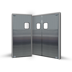 DSP-3 Stainless Steel Traffic Door