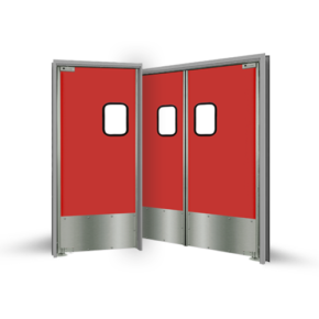 LWP-6 Aluminum Traffic Door
